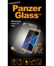 PanzerGlass ochranné tvrzené sklo pro Samsung S7, zlaté