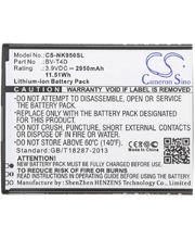 Batéria pre Microsoft Lumia 950 XL, (BV-T4d) 2950mAh Li-ion